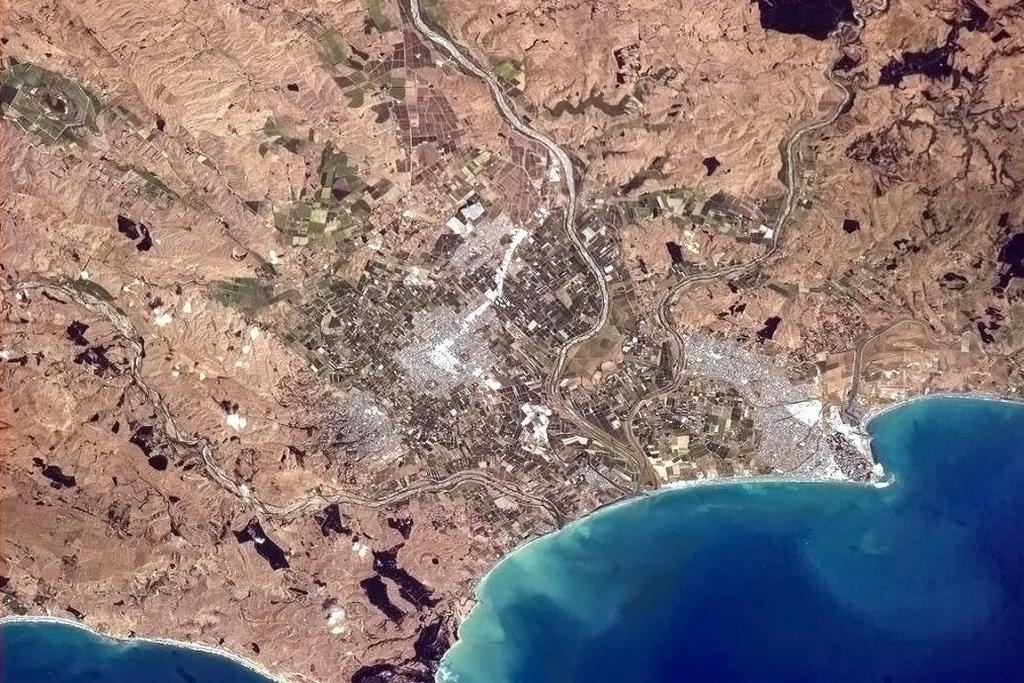 Hawke's Bay from the ISS