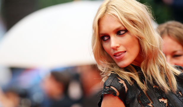 NAKED PROTEST: Anja Rubik has told Twitter followers 'not to fear the nipple' after being kicked off Instagram.