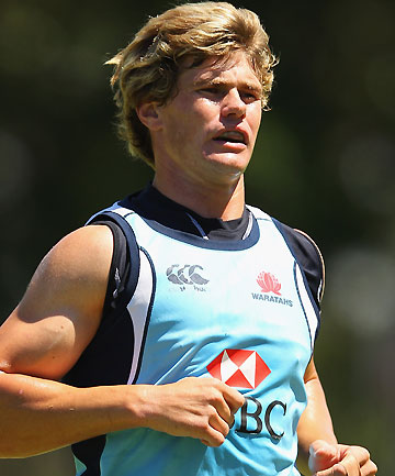 IN DOUBT: Waratahs' first-five Berrick Barnes is likely to miss the opening rounds of the Super Rugby season with a knee injury.