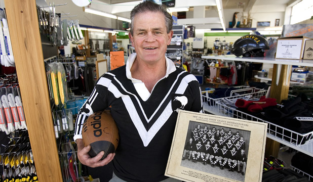 KIWI BATTLER: Former Kiwi Tony Coll is seeing the effects of job losses.