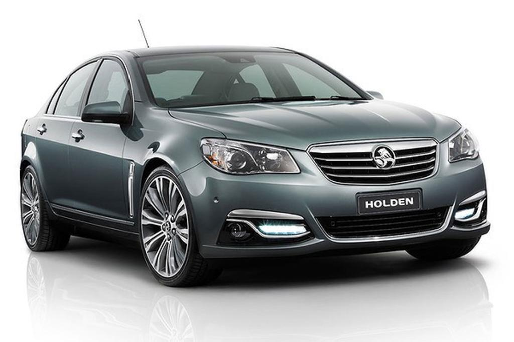 Holden reveals new VF Commodore.