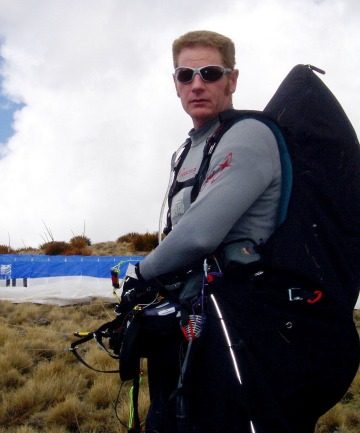 Grant Middendorf, of Hawea, has been named the New Zealand paragliding champion.