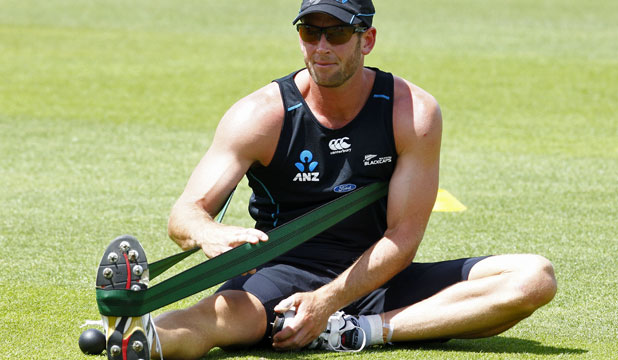 HANDLING THE STRAIN: Otago all-rounder Ian Butler has fought his way back into the Black Caps after years on the outer.