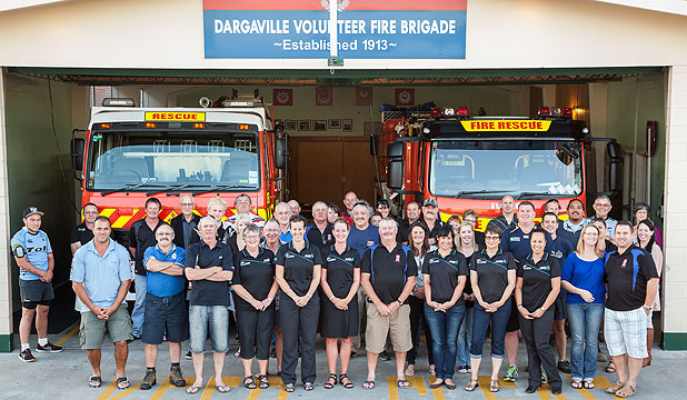 HAPPY FAMILY: ANZ Dargaville branches put on a dinner and drinks for firefighters and their families from all over the district in appreciation of all the hard work they do.