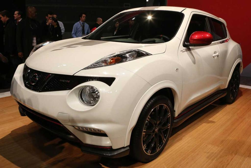 The Nissan Juke Nismo at the Chicago Auto Show.