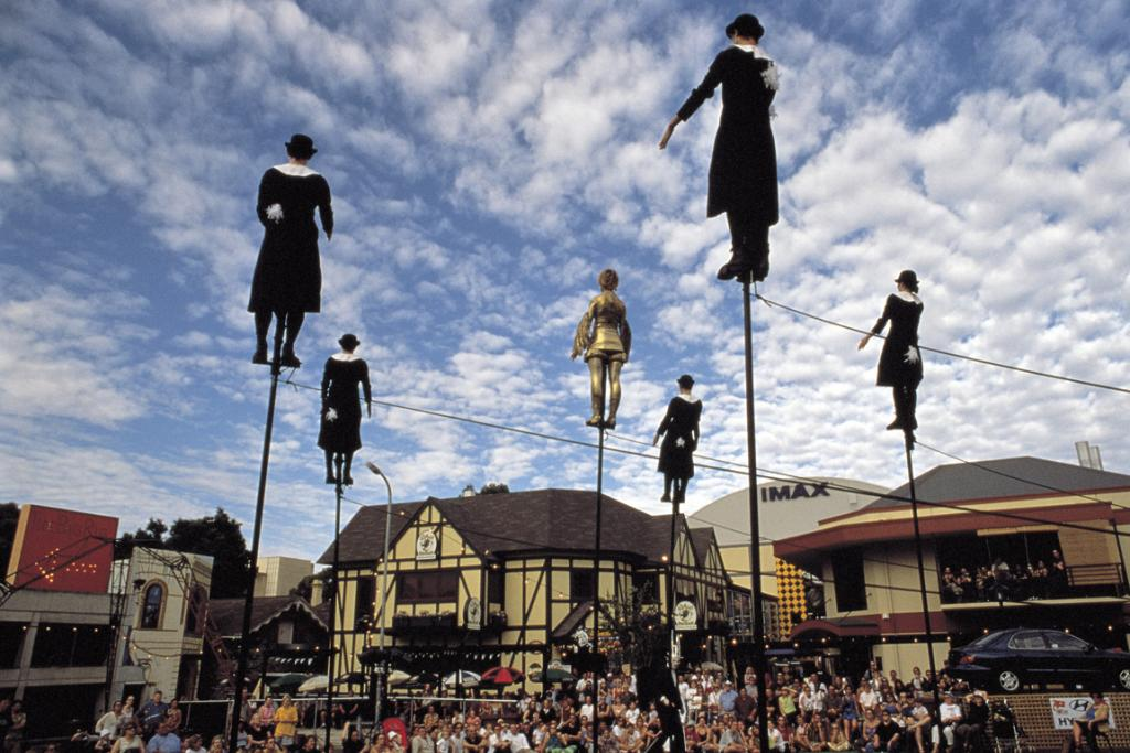 Performers at Adelaide Fringe Festival.