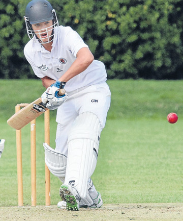 James Ng will be part of the Southland Boys' High School First XI, which has a busy schedule ahead.