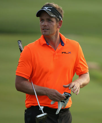 LUKE DONALD: Has turned to NBA great Michael Jordan for help with the mental side of professional sport.