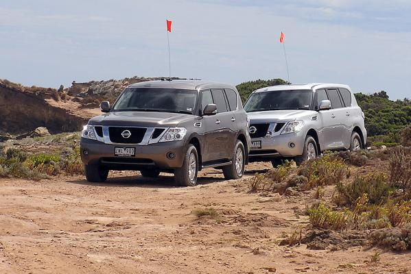 Testing the latest Nissan Patrol.