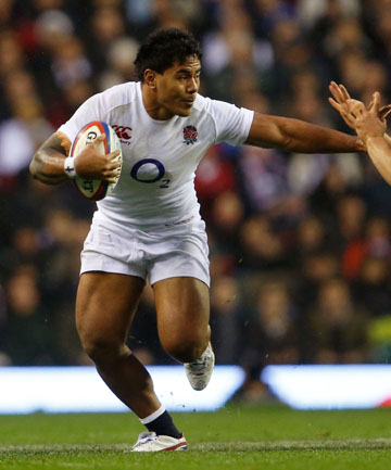 DOUBLE DOUBT: Manu Tuilagi's chances of making the Lions squad appear slim due to his Tongan heritage and his behaviour at the 2011 World Cup.