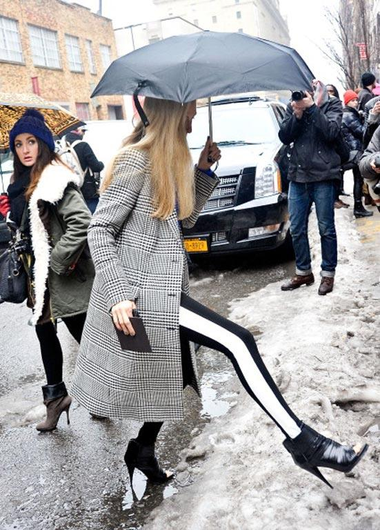 What people are wearing to New York Fashion Week.
