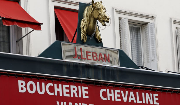 HORSES FOR COURSES?: A loyal minority in France laments a dwindling appetite for a meat they say is a tastier and healthier alternative to beef.