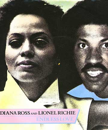 Diana Ross and Lionel Richie