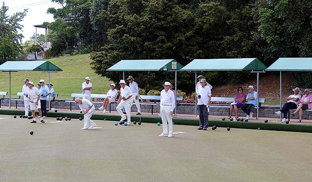 Octagenarian Bowls tournament