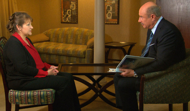 MOTHER'S ACCOUNT: Dr Phil McGraw interviews Jennifer Kirkland about her child being held captive in a bunker in Alabama.