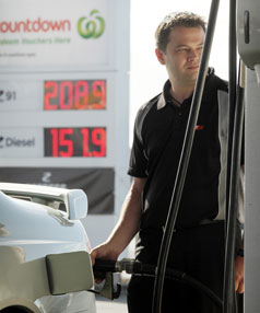 petrol stand