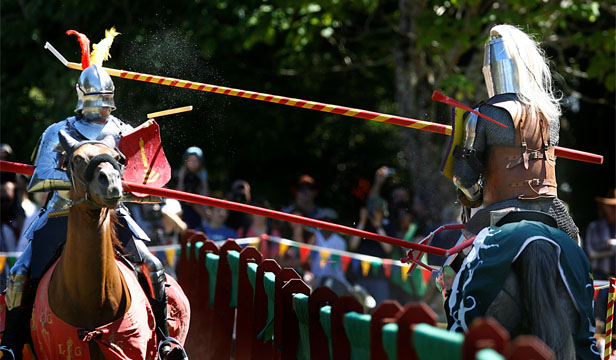 ADRENALINE RUSH: CNN Travel decided that the jousting tournament in Upper Hutt was one of the world's best.