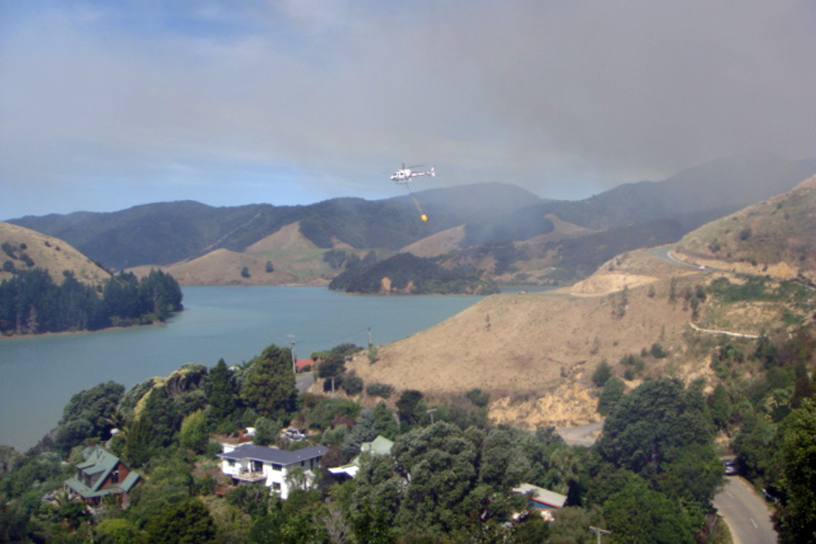 Cable Bay Fire