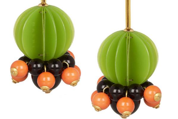 Marni resin earrings.