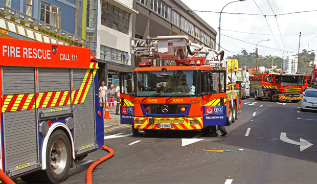 Willis St fire