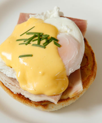 EGGS BENEDICT: You can make it at home for around $5, but even at $16 people are flocking to cafes to buy it.