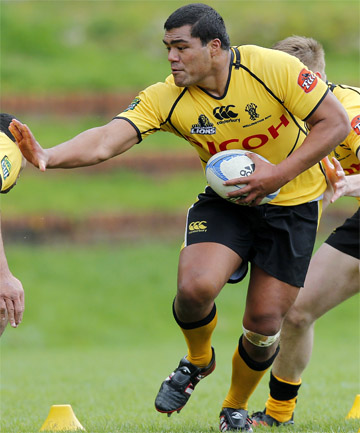 UP AND COMER: Solomona Sakalia is a young prop hoping to shine for  the Chiefs.