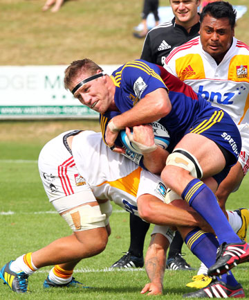 REMATCH: The Chiefs will begin their title defence by taking on Brad Thorn and his Highlanders in Dunedin on Friday.