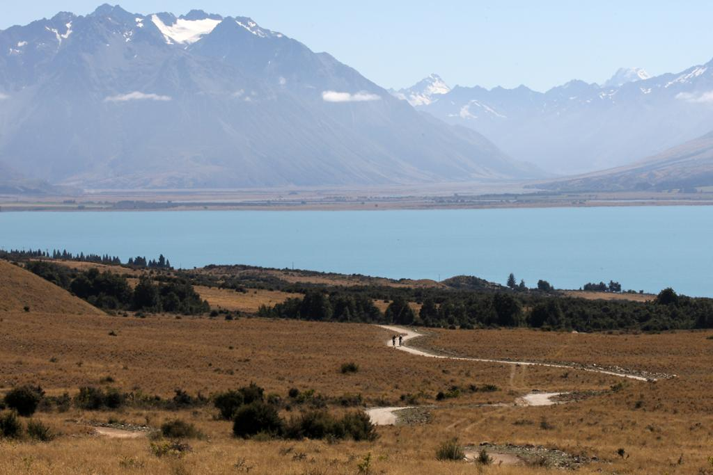 SCENIC: The Ohau to Omarama section of the Alps 2 Ocean Cycleway meanders through high country scenery.