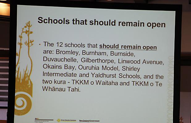 OFFICIAL: Schools to stay open.