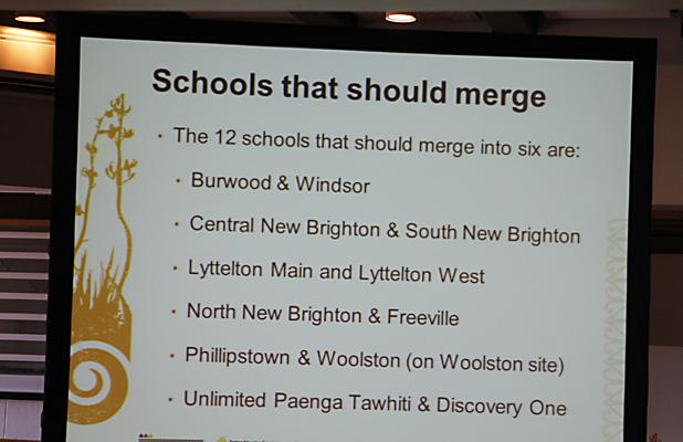 OFFICIAL: Schools to merge.