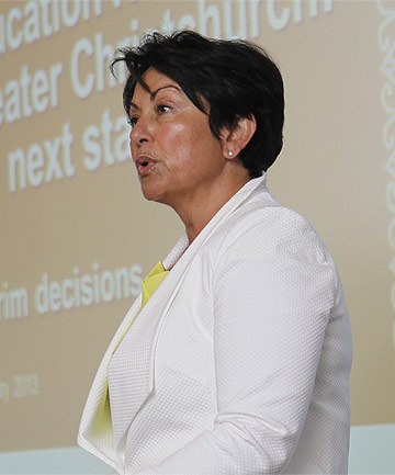 DECISION TIME: Education Minister Hekia Parata announces which schools will close, merge, or remain untouched.