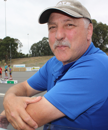 TOP TRACK: New Zealand speed skating coach John Michael believes the new Caroline Bay rink would be perfect for world championships.