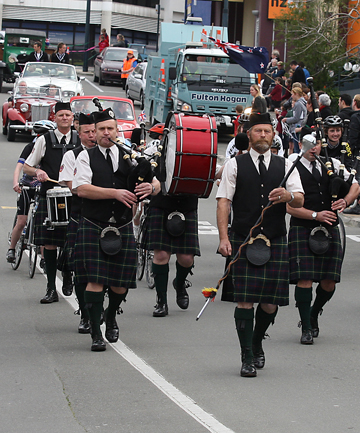 temuka pipe band