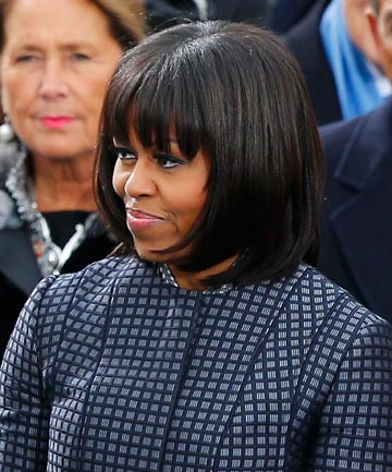 NEW DO: Michelle Obama.