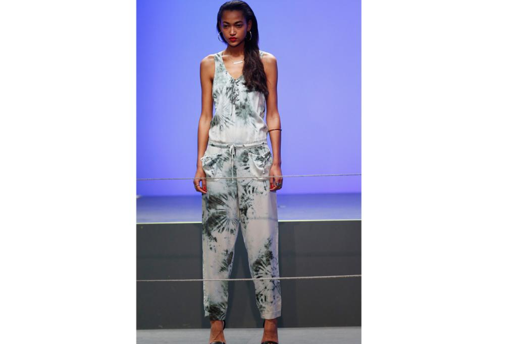 """Everyone can wear this line. It's not costume, it's not too sexy. It's very easy and laidback,"" Rihanna told Grazia UK. And while most of the collection was rubbished by critics, these jumpsuits were the best of a bad bunch."