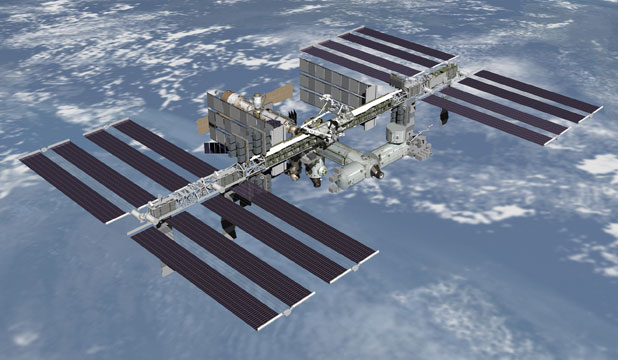NO COMMUNICATIONS: The International Space Station lost all contact with Houston this morning.
