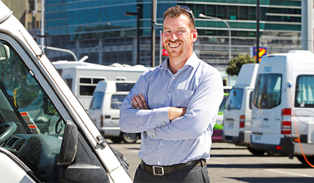 A NICER WAY: WagonShare managing director Dean Goble wants RV users to have a more enjoyable hiring experience courtesy of Kiwi owners.