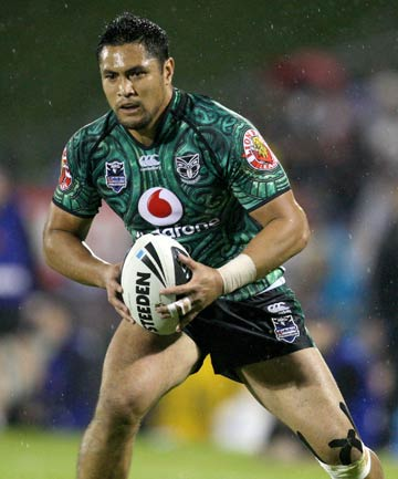 BACK IN ACTION: Jerome Ropati has been out of action since picking up a knee injury in the round 10 game against thet Sydney Roosters last May.
