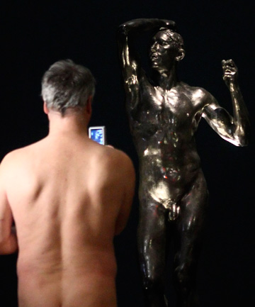 nude art exhibit
