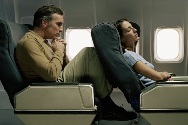 Recline airline seat