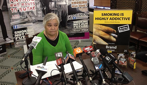 TARIANA TURIA: Plain packaging would reduce the last hint of glamour from smoking.
