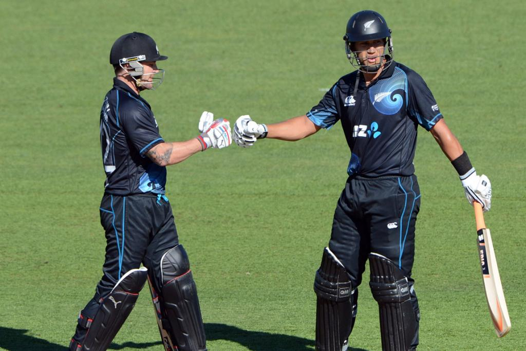 Brendon McCullum and Ross Taylor.