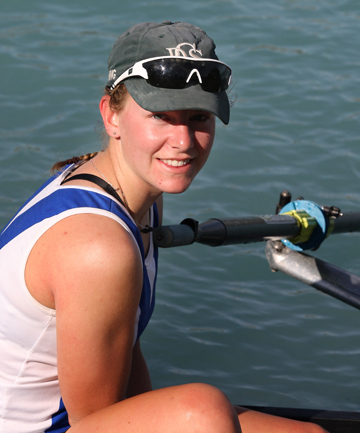 OPTIONS: Timaru rower Erica Taylor.