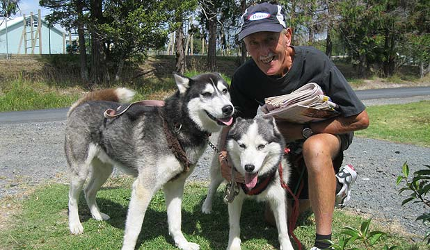 Gary Retigen and dogs