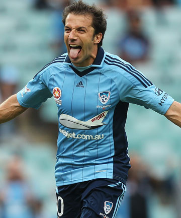 ANOTHER YEAR: Sydney FC is expected to announce the re-signing of Alessandro Del Piero early next week.
