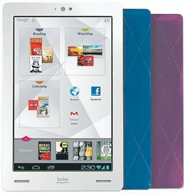 Kobo:  Tablet takes reading to a new level