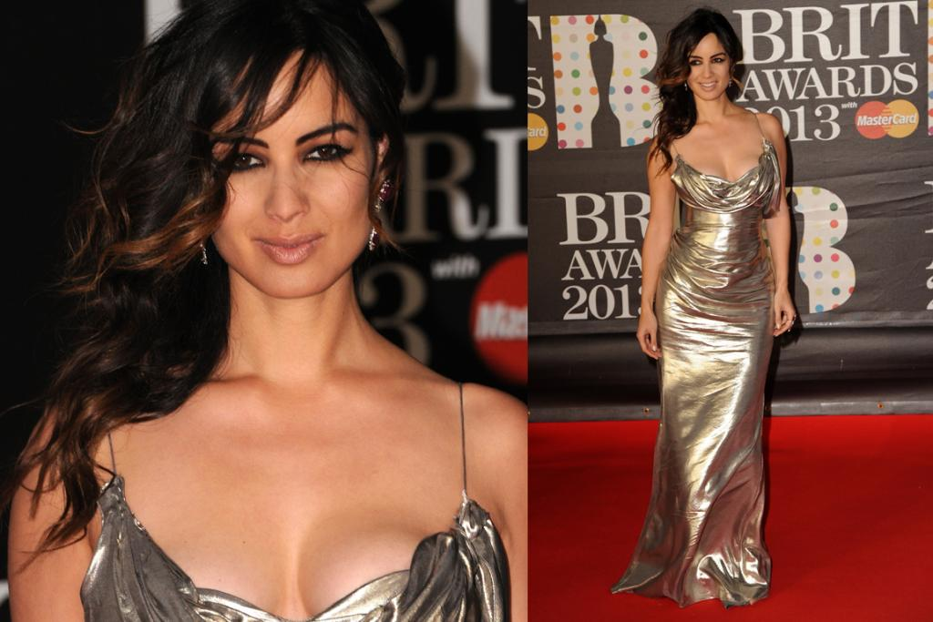 The Good: Like Nigella Lawson-meets-Bond Girl, Berenice Marlohe looked resplendent in a silver Donna Karan Atelier gown. It flatters her curves and looks just edgy enough.