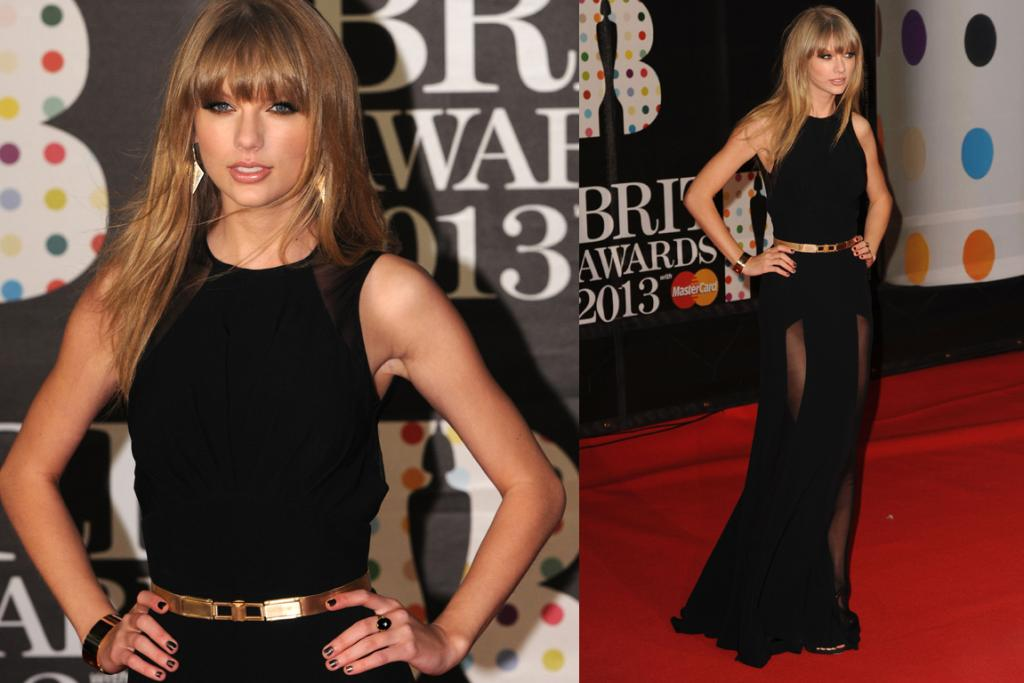 The Great: Taylor Swift looks elegant, sexy and not an ounce 'cutesy' in this Elie Saab gown. We tend to be bored by her looks on the red carpet, but this is a triumph. Take that Harry.
