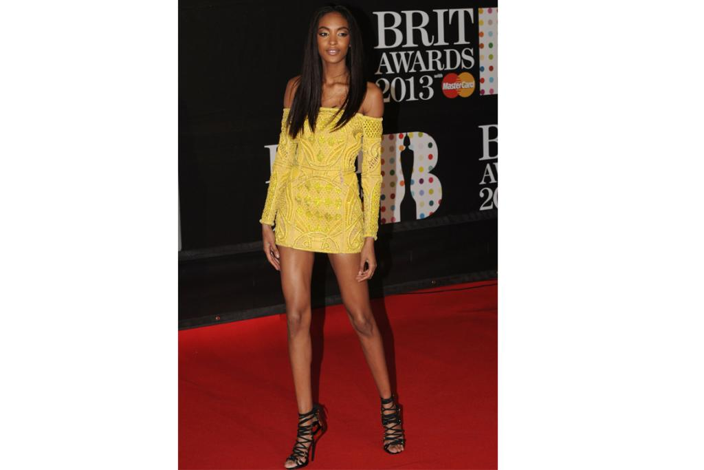 The Good (just): Supermodel Jourdan Dunn works Balmain like only someone who's paid to wear clothes for a living can. We're inclined to think this looks a bit short, though. Thoughts?