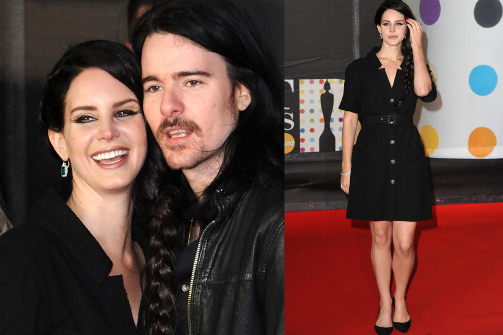 The Bad: Lana Del Rey (seen here with her boyfriend Barrie James O'Neill) really dressed up for the occasion. Not.